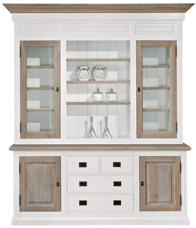 Buy Country Oak Buffet Cabinet - 4 Door 4 Drawer 6164 Online - CFS UK