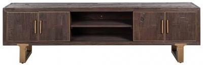 Cromford Mill 4 Door TV Cabinet