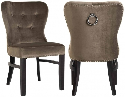 Genesis Fabric Dining Chair (Pair)