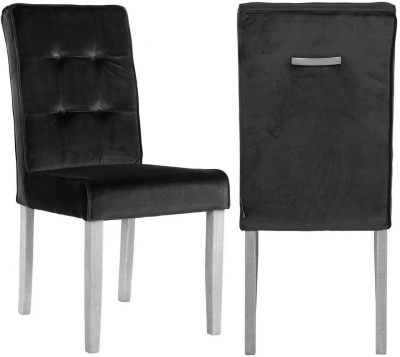 Luca Fabric Dining Chair (Pair)