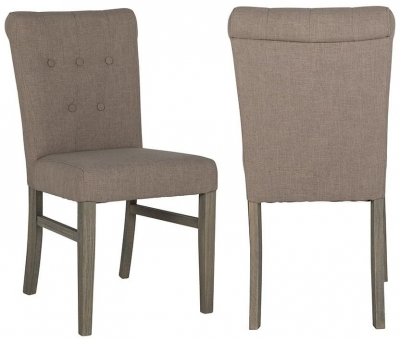 Chanti Fabric Dining Chair (Pair)