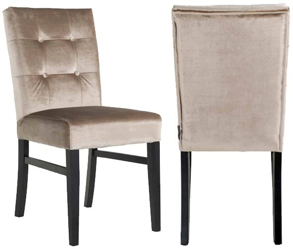 Larino Fabric Dining Chair (Pair)