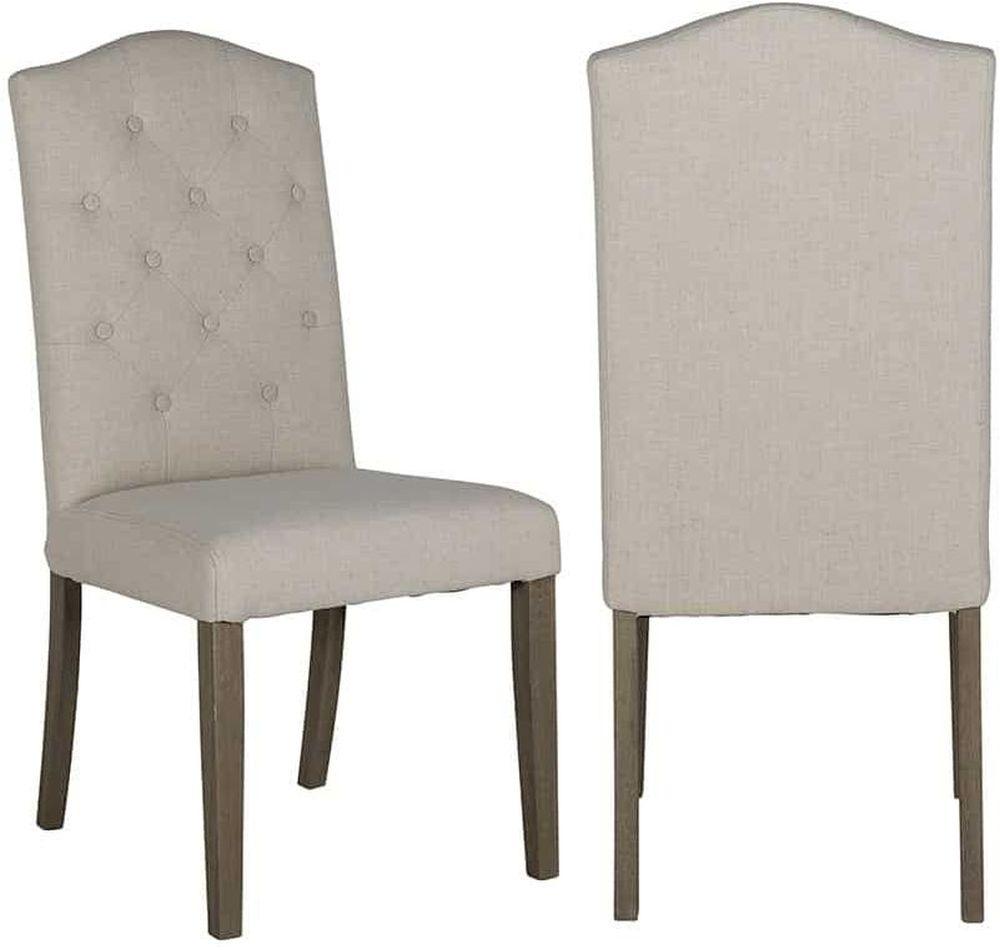 Sylvana Fabric Dining Chair (Pair)