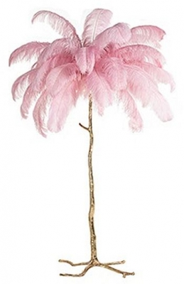Burlesque Pink Floor Lamp