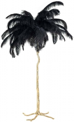 Burlesque Black Floor Lamp