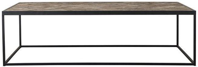 Herringbone Oak Small Coffee Table