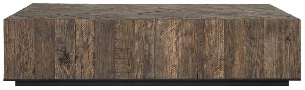 Herringbone Oak Coffee Table