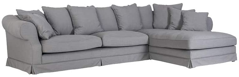 Isabella Left Hand Side Corner Sofa with Loose Cushions