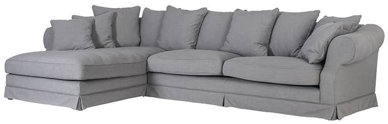 Isabella Right Hand Side Corner Sofa with Loose Cushions