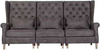 Jonas 3 Seater Fabric Sofa