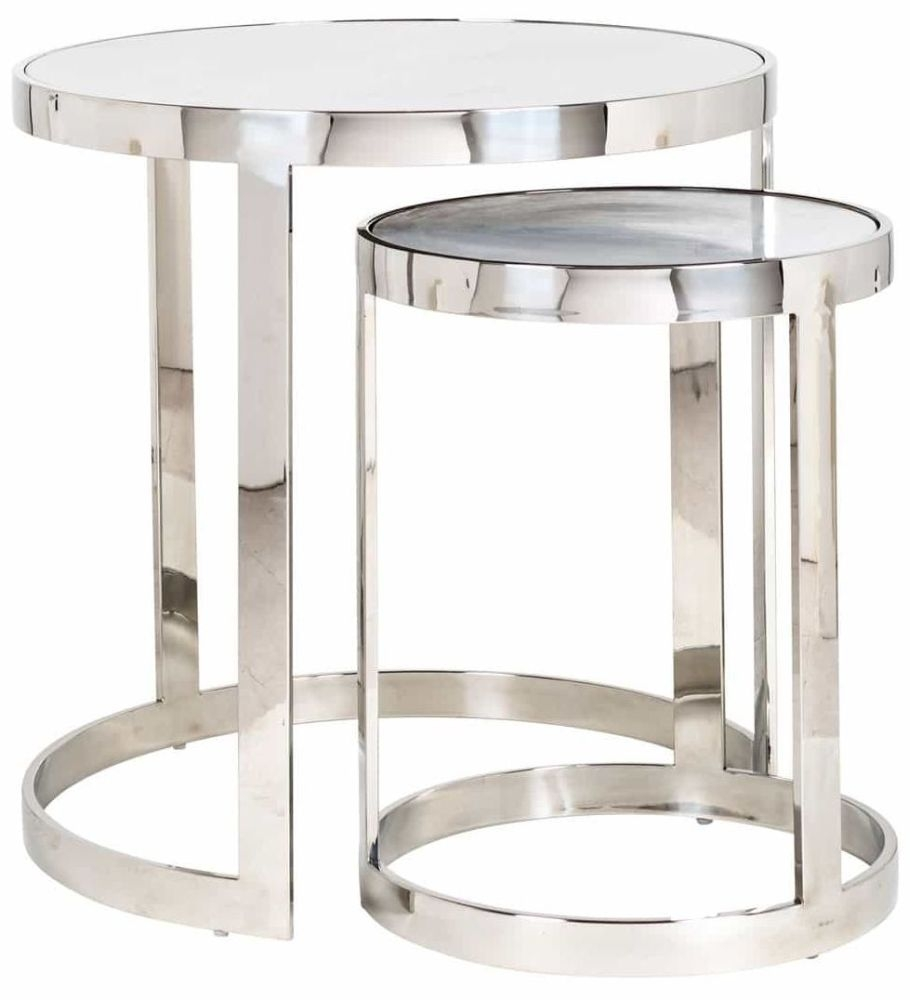 Levanto Round Coffee Table - Set of 2