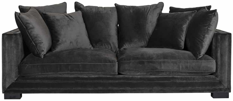 Maxim Juke Charcoal Sofa