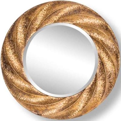 Carmen Gold Round Mirror - 86cm x 86cm