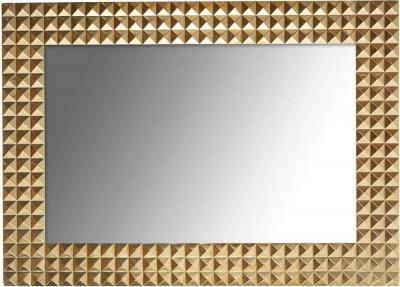 Caster Gold Rectangular Mirror - 51cm x 71cm