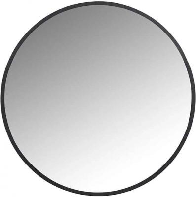 Jamel Black Small Round Mirror - 45cm x 45cm