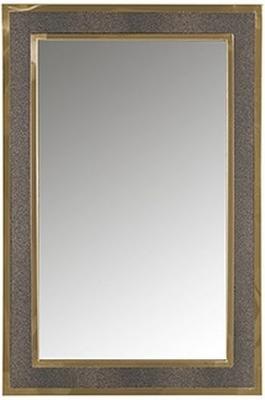 Bara Gold Rectangular Wall Mirror - 60cm x 90cm