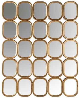 Marila Gold Wall Mirror - 79.5cm x 99cm