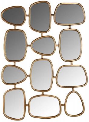 Jeff Gold 12 Mirror - 80cm x 110cm