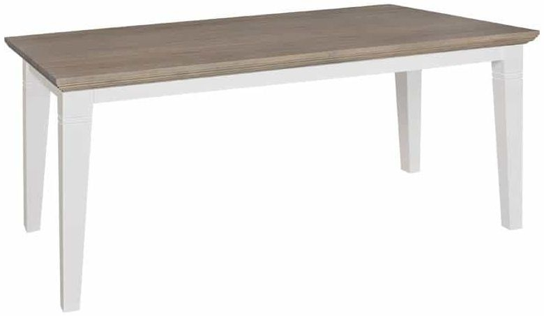 Oakdale Painted 220cm Dining Table with Tapered Legs