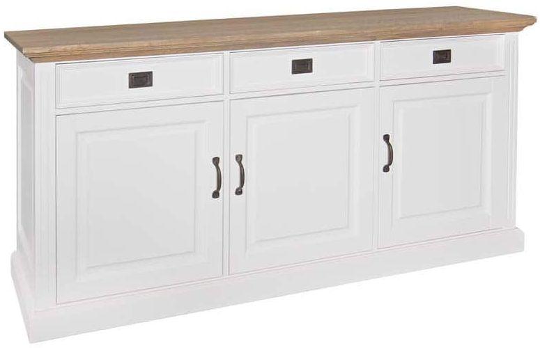 Oakdale Painted Sideboard - 3 Door 3 Drawer