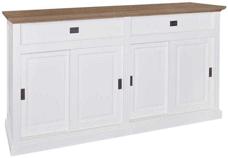 Oakdale Painted Sideboard - 4 Door 2 Drawer