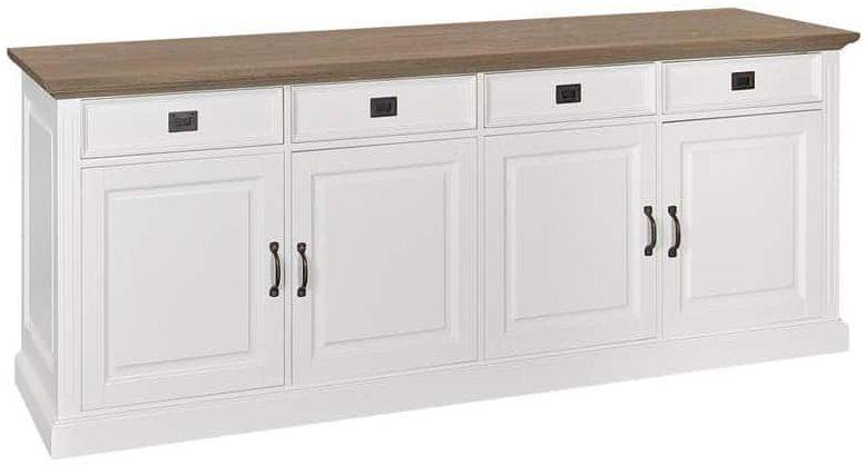 Oakdale Painted Sideboard - 4 Door 4 Drawer