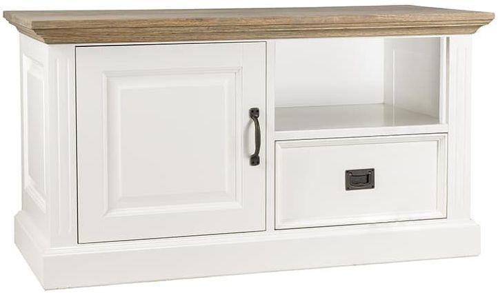 Oakdale Painted TV Unit - 1 Door 1 Drawer