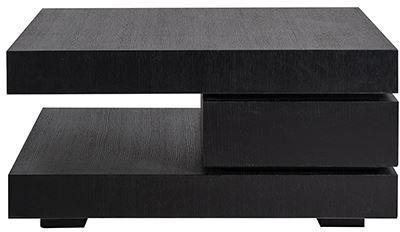 Oakura Blok C Black Coffee Table