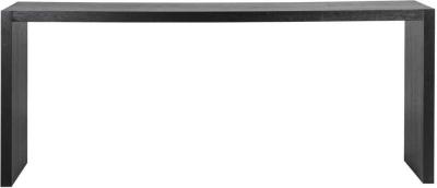 Oakura Black Oak Console Table