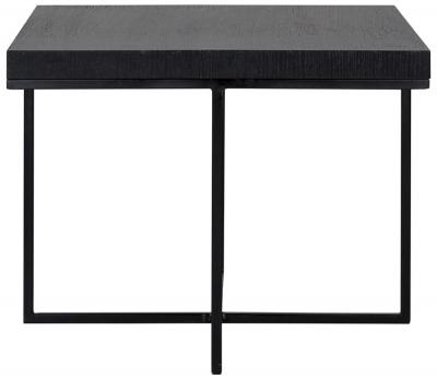 Oakura Black Square Side Table