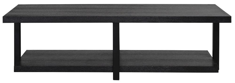 Oakura Black Rectangular Coffee Table