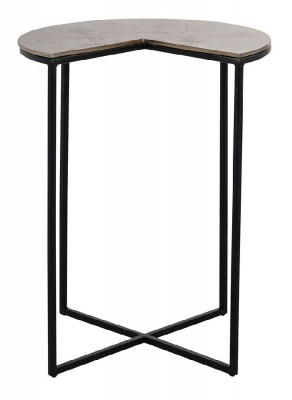 Arden Champagne Gold Side Table
