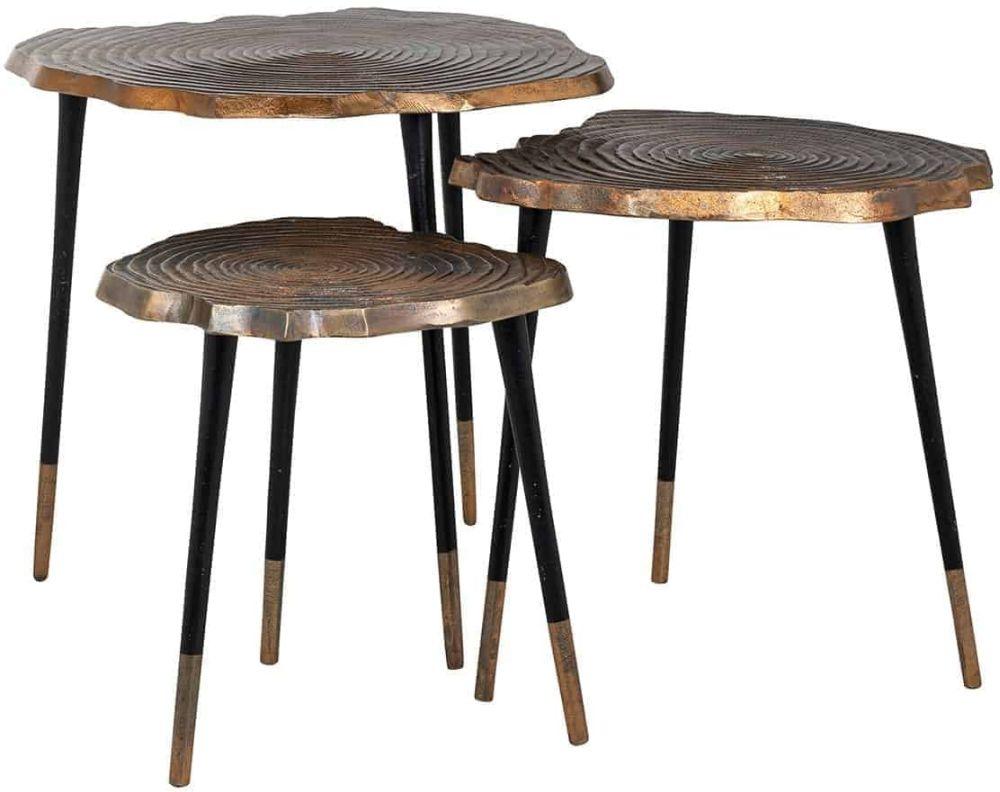 Sherman Aluminium Side Table (Set of 3)