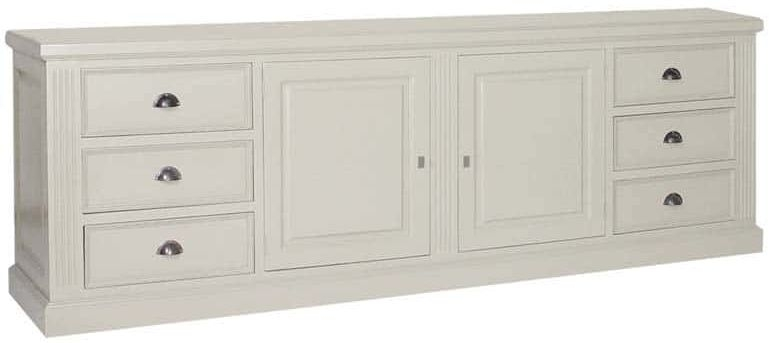 Eduard Painted Sideboard - 2 Door 6 Drawer