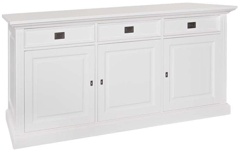Provence Painted Sideboard - 3 Door 3 Drawer