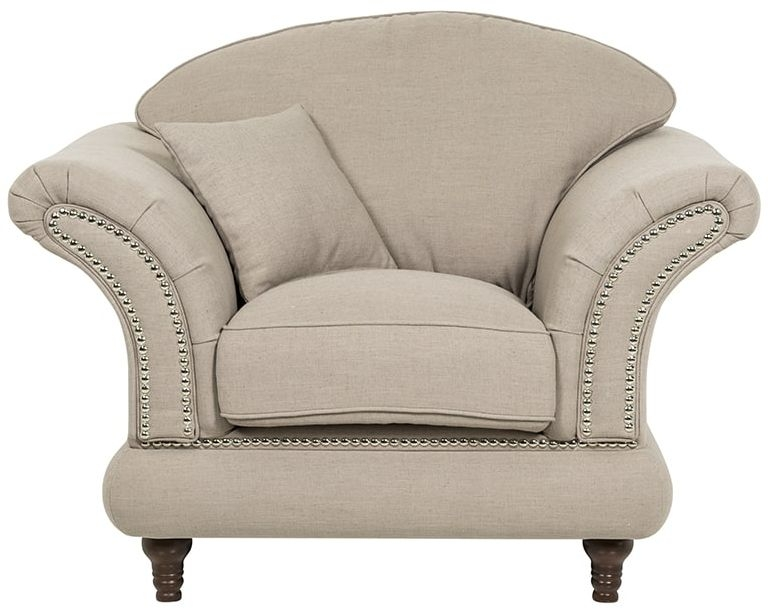 Rachel Armchair with loose cushions