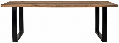 Raffles Recycled Wood Dining Table - 240cm