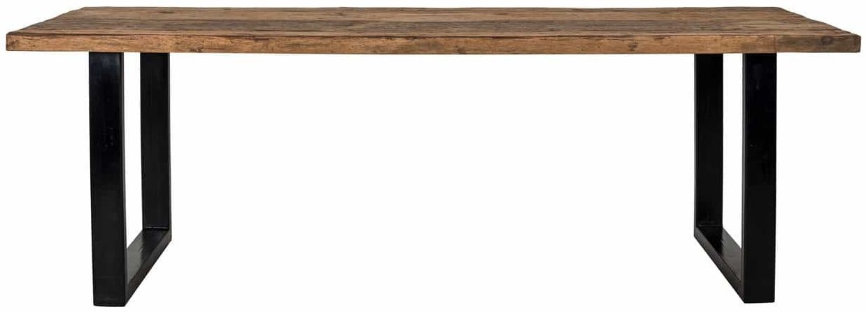 Raffles Recyceld Wood Dining Table - 200cm