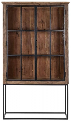 Raffles Recyceld Wood 2 Door Cabinet