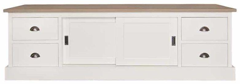Tobi TV Unit - 2 Door 4 Drawer - Large