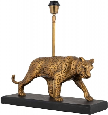 Selene Gold Panther Table Lamp Base