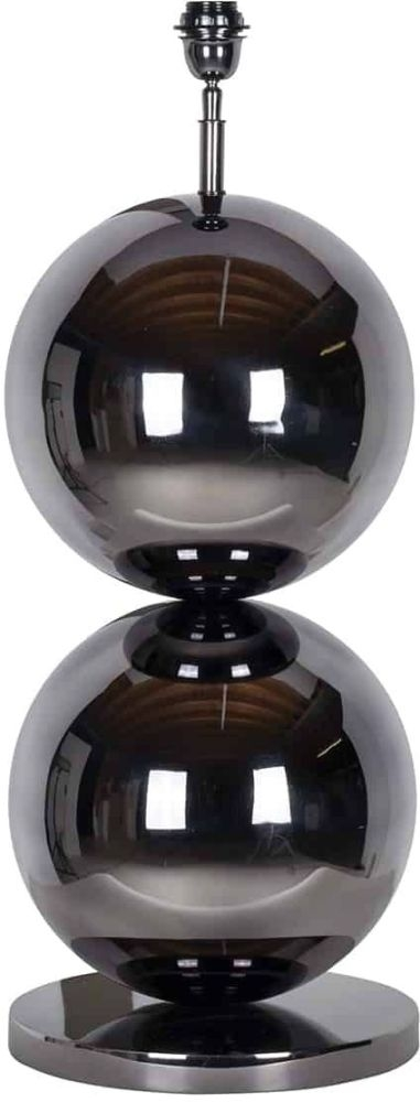 Bobbie Black Nickel Table Lamp Base