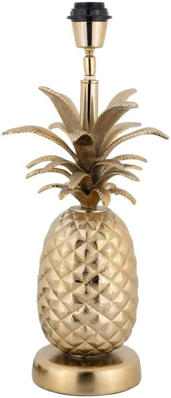 Colada Pineapple Gold Table Lamp Base