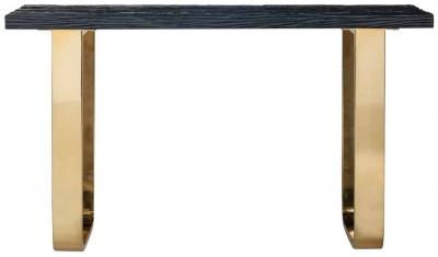 Vendome Black and Gold Console Table