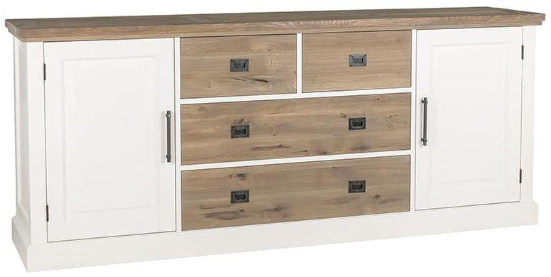 Vermont Sideboard - 2 Door 4 Drawer