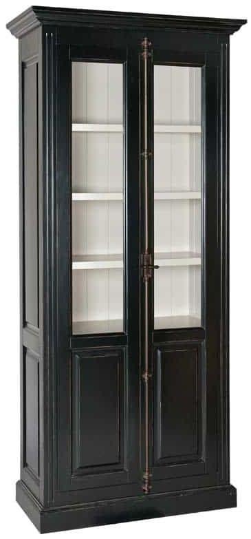 Manhattan Espagnolette Display Cabinet - 2 Door