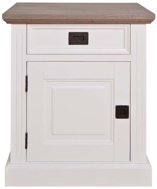 Westwood Bedside Cabinet - Left Hand Facing 1 Door 1 Drawer
