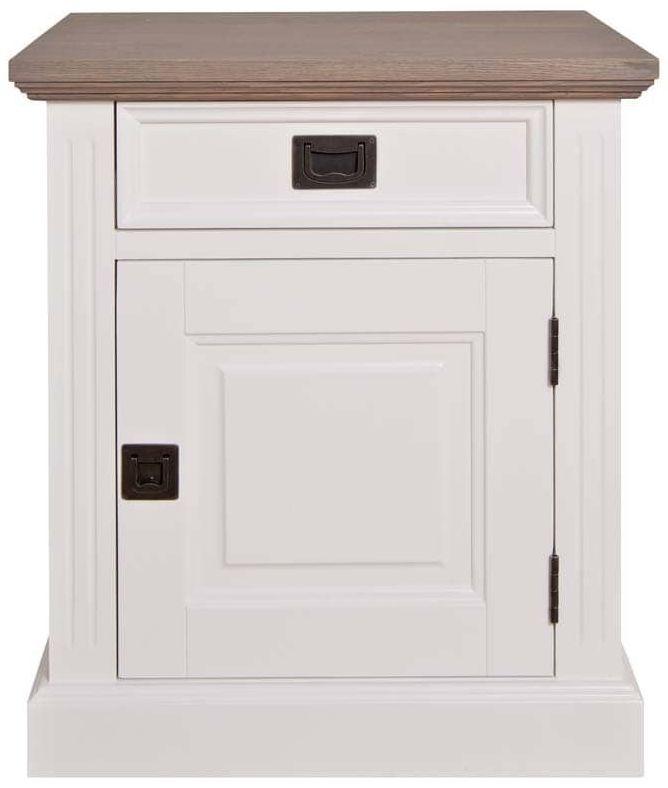 Westwood Bedside Cabinet - Right Hand Facing 1 Door 1 Drawer