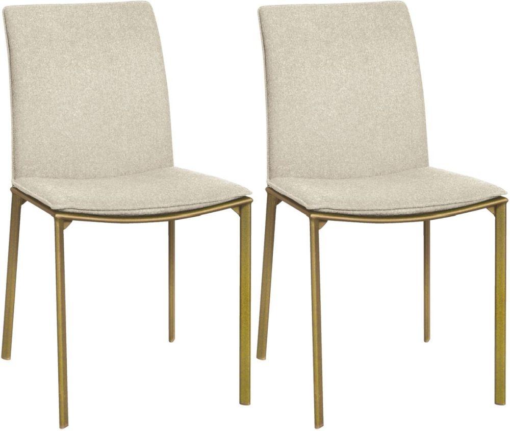 Rowico Pepe Fabric Dining Chair - Oatmeal