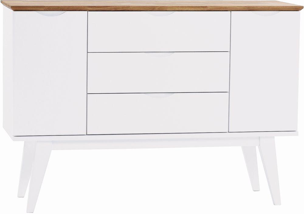 Rowico Filippa White and Oak Sideboard
